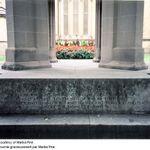 St. James Main Dedication– Main dedication on the St. James War Memorial.