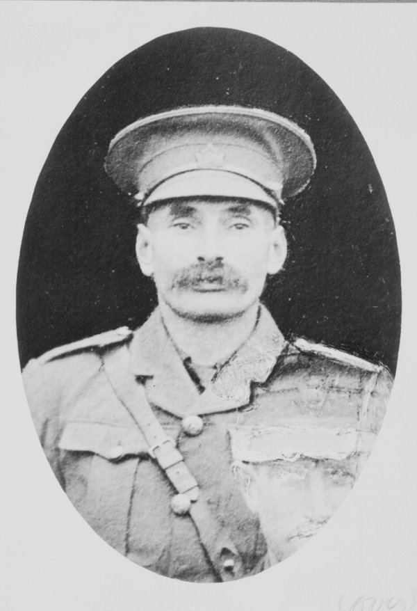 Photo of Fred. W. Campbell– Lieutenant Fred. W. Campbell