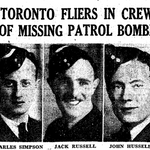 Newspaper clipping– From the Toronto Star March 1944. Submitted for the project Operation Picture Me