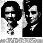 Newspaper clipping– From the Toronto Star January 1941. Submitted for the project Operation Picture Me