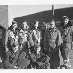 Biography– Gordon Hoggard back row fourth from the left.  Training in Dafoe, Saskatchewan.