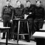 Biography– Gordon Hoggard first on the right.  Training in Dafoe, Saskatchewan.