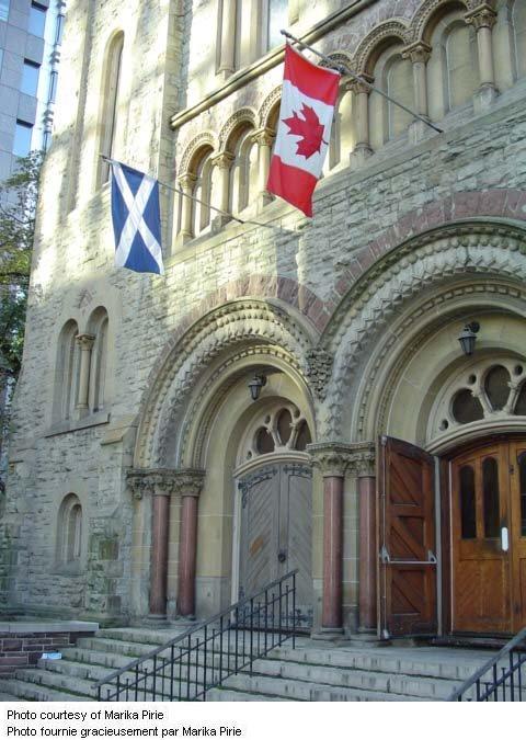 St. Andrew's Presbyterian Church– Front Entrance of St. Andrew's Presbyterian
