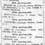 Newspaper clipping– From the London Free Press Jan. 1916. Submitted for the project Operation Picture Me