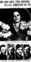 Newspaper clipping– From the Toronto Star July 1943. Submitted for the project Operation Picture Me