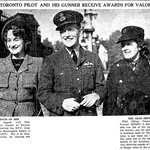 Newspaper clipping– From the Toronto Star November 1940. Submitted from the project Operation Picture Me
