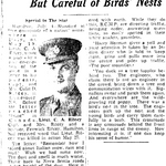 Newspaper clipping– From the Toronto Star July 1944. Submitted for the project Operation Picture Me
