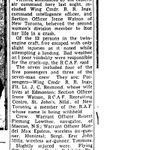 """Newspaper Clipping– Toronto Star """"Pages of the Past"""" online 1943 Nov. 13  p. 7"""