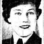 Newspaper clipping– From the Toronto Star November 1943. Submitted for the project Operation Picture Me