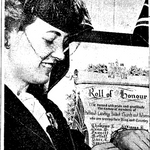 Newspaper clipping– From the Toronto Star November 1945. Submitted for the project Operation Picture Me