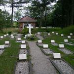 Schiermonnikoog (Vredenhof) Cemetery– view of cemetery