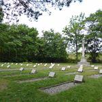 Schiermonnikoog (Vredenhof) Cemetery– View of cemetery, WWII portion