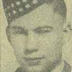 Photo of THOMAS WARD ALEXANDER– From the Kitchener Public Library collection of World War Two Soldier Information Cards. Submitted for the project Operation Picture Me