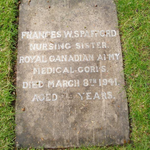 Grave Marker– Submitted for the project, Operation Picture Me.