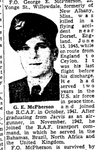 Newspaper clipping– From the Toronto Star August 1945. Submitted for the project Operation Picture Me