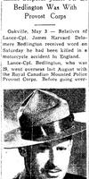 Coupure de Journal – De le Toronto Star, le 1 mai 1943. Soumis pour le projet Opération Photo Moi