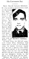 Newspaper clipping– From the Toronto Star October 1943. Submitted for the project Operation Picture Me