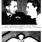 Newspaper clipping– From the Toronto Star June 1944. Submitted for the project Operation Picture Me