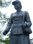 Memorial– On May 5, 2001, the Lieutenant-Governor of Ontario, Her Honour Mrs. Hillary Weston unveiled the Canadian Women's Army Corps Memorial Monument in Kitchenor Waterloo. This memorial honours the women who served in the C.W.A.C. between 1941 and 1946 abd lists those who died while on service.