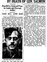 Newspaper clipping– From the Toronto Star April 1943. Submitted for the project Operation Picture Me