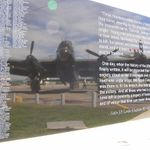 Memorial– Flying Officer Gibson Scott is commemorated on Canada's Bomber Command memorial at the Nanton Lancaster Society Air Museum in Nanton, Alberta.