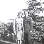 Group Photo– Photo found in Thomas'  military service file. Submitted for the project, Operation Picture Me