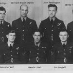 Group Photo– Crew of NR121MPE of 76 Squadron. All died 21st February 1945.