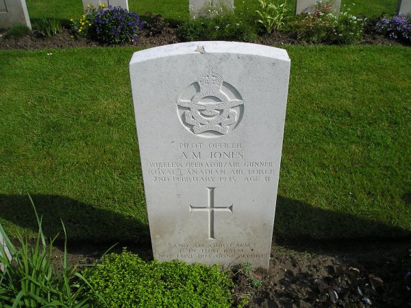 Grave Marker– Photo taken in May 2005