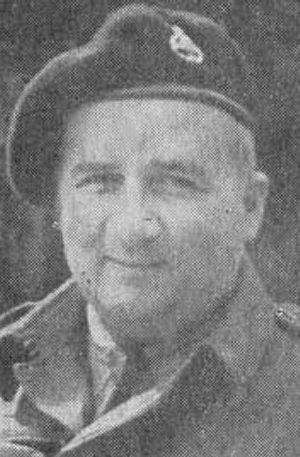 Photo of Walter Brown– Chaplain Brown killed WW2. Source: UWO newsletter online 2006