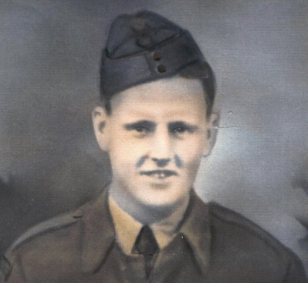 Photo of George Albert Hadley– Cpl George Hadley joined The Queen's Own Rifles in June 1940, along with his brother Jack. He served with the Regiment in Newfoundland, New Brunswick and in England. He survived D-Day but was killed in Normandy when his patrol was mistakenly fired upon by other Canadian troops.