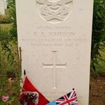 Grave marker– Photo taken in July 2015 when 438 squadron members paid respects at multiple grave sites of fallen members of 438 squadron RCAF in France, Belgium and the Netherlands.