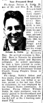 Newspaper clipping– From the Toronto Star April 1944. Submitted for the project Operation Picture Me