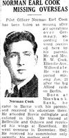 Coupure de Journal – De le Toronto Star, janvier 1944. Soumis pour le projet Opération Photo Moi