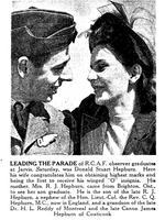 Newspaper clipping– From the Toronto Star May 1941. Submitted for the project Operation Picture Me