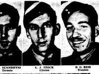 Newspaper clipping– From the Toronto Star October 1941. Submitted for the project Operation Picture Me
