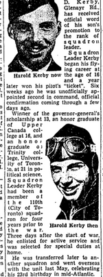 Newspaper clipping– From the Toronto Star December 1940. Submitted for the project Operation Picture Me