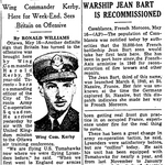 Newspaper clipping– From the Toronto Star May 1942. Submitted for the project Operation Picture Me