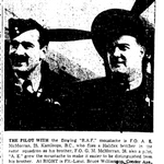 Newspaper clipping– From the Toronto Star January 1945. Submitted for the project Operation Picture Me