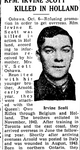 Newspaper clipping– From the Toronto Star October 1945. Submitted for the project Operation Picture Me