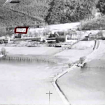 Aerial photo– Photo of the drop zone of the 1st Canadian Parachute Bn. This is where Lt Col Nicklin lost his life. Submitted for the project, Operation Picture Me