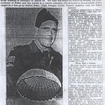 Newspaper Clipping– This obituary article about LCol Nicklin was obtained from a microfilm copy of a Winnipeg newspaper from 1945.