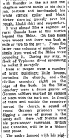 Newspaper clipping– From the Toronto Star March 1945. Submitted for the project Operation Picture Me