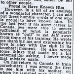 Newspaper Clipping 5– Another article on LCol Nicklin from a 1945 Winnipeg newspaper.
