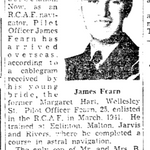 Newspaper clipping– From the Toronto Star November 1942. Submitted for the project Operation Picture Me.