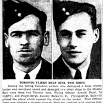 Newspaper clipping– From the Toronto Star March 1943. Submitted for the project Operation Picture Me