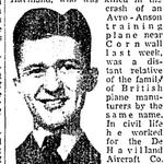 Coupure de presse – Du Toronto Star septembre 1942. Soumis pour le projet Operation Picture Me