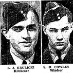 Coupure de Journal – De le Toronto Star, avril 1942. Soumis pour le projet Opération Photo Moi
