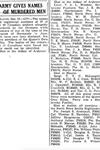 Coupure de Journal – De le Toronto Star, décembre 1945. Soumis pour le projet Opération Photo Moi