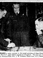 Newspaper clipping– From the Toronto Star December 1941. Submitted for the project Operation Picture Me