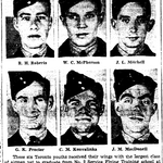 Newspaper clipping– From the Toronto Star April 1941. Submitted for the project Operation Picture Me